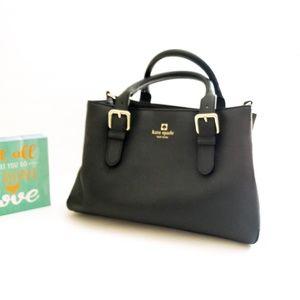 Kate Spade Octavia Leather Satchel Shoulder Bag